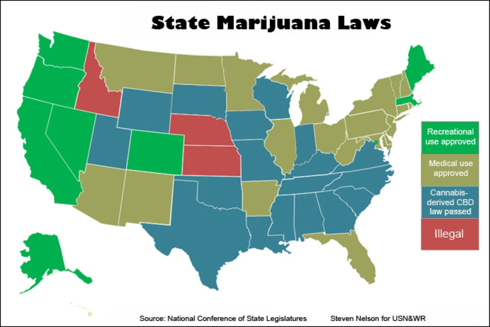 a debate on the legalization of industrial and recreational marijuana in the united states of americ State legalization of recreational marijuana: the ongoing national debate over marijuana provides a clear example of the confusion eg, united states v.